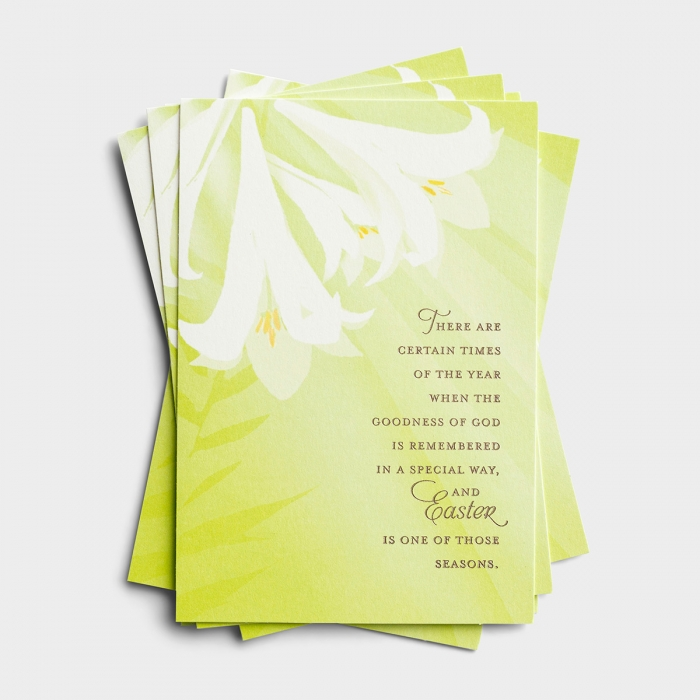 Easter - The Goodness of God - 6 Note Cards