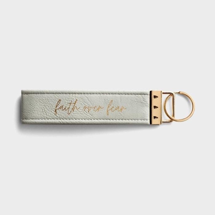 Faith Over Fear - Inspirational Keychain