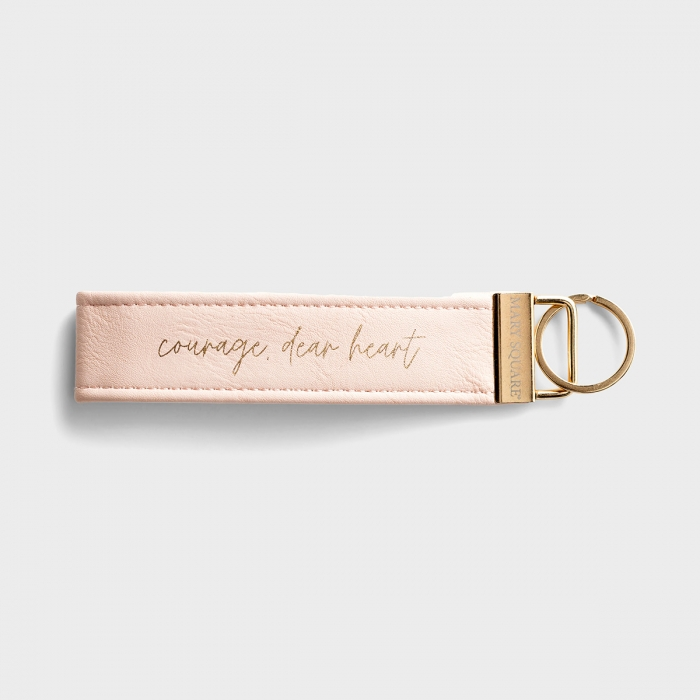 Courage, Dear Heart - Inspirational Keychain