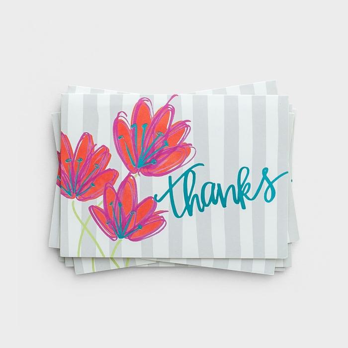 Thanks - 10 Premium Note Cards
