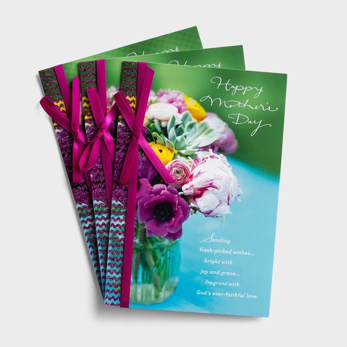Mother's Day - Beauty and Goodness - 3 Premium Cards, KJV