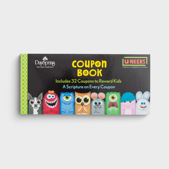 U-NEEKS - Reward Coupon Book for Kids - 32 Coupons