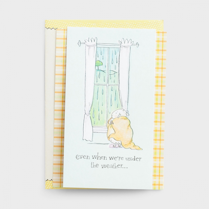Really Woolly - Get Well - Under The Weather - 4 Premium Cards