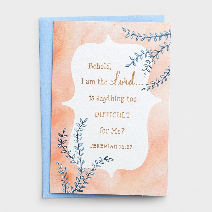 Praying for You - Behold, I Am the Lord - 3 Greeting Cards