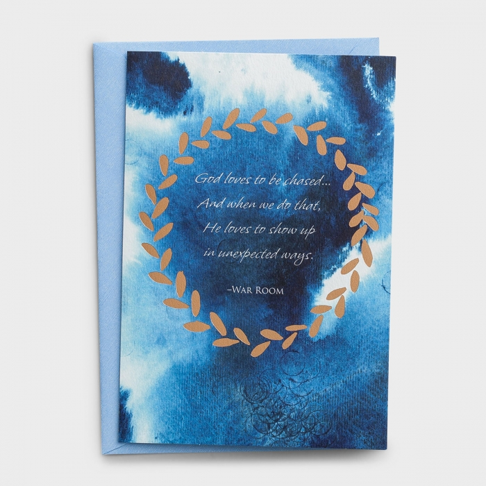 Encouragement - God Loves to Be Chased - 3 Premium Cards