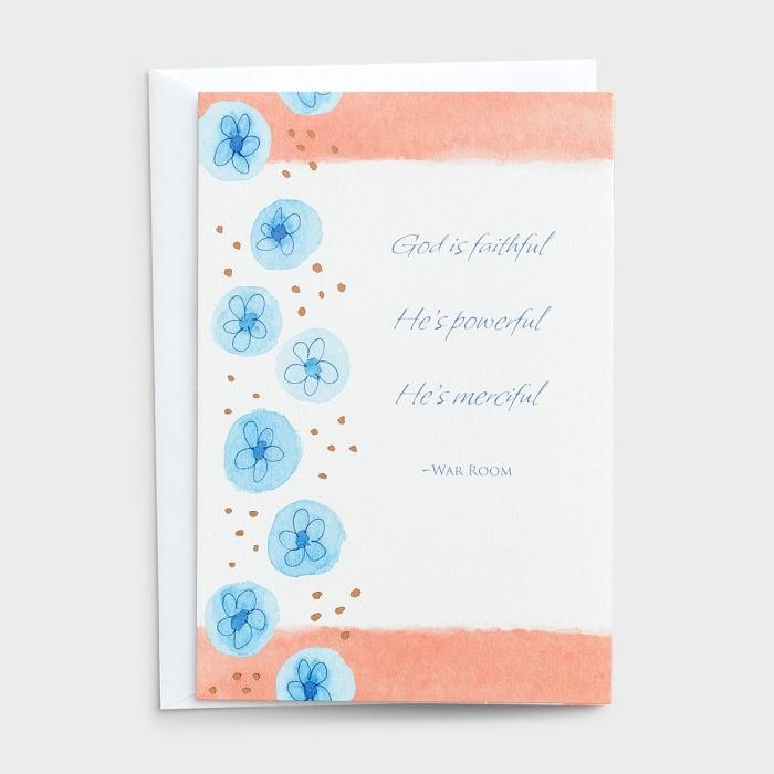 Thank You - God Is Faithful - 3 Premium Cards