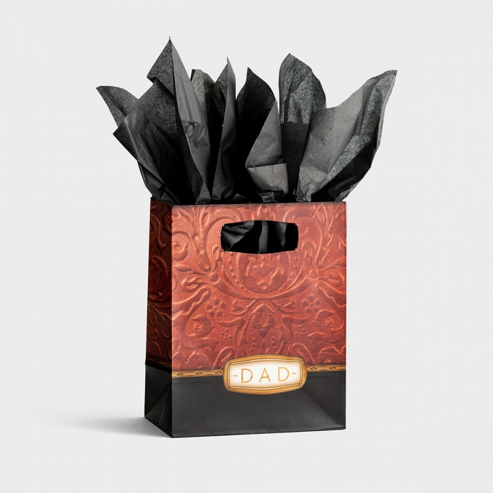 Dad - Medium Gift Bag with Tissue