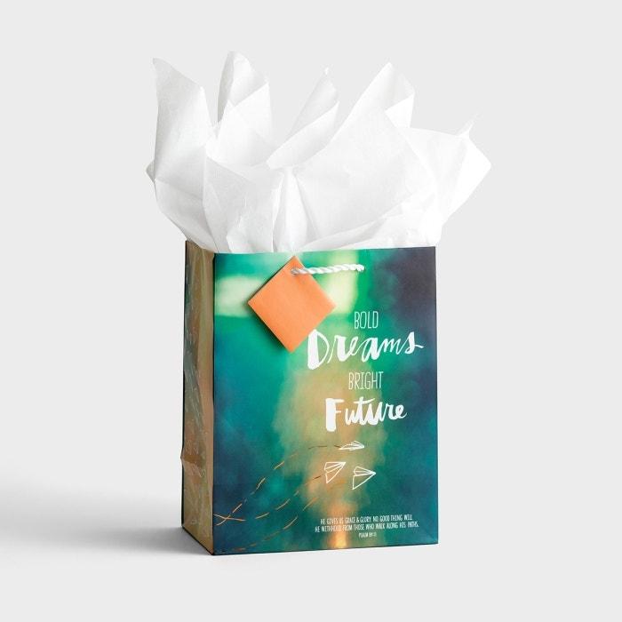 Bold Dreams Bright Future - Medium Gift Bag