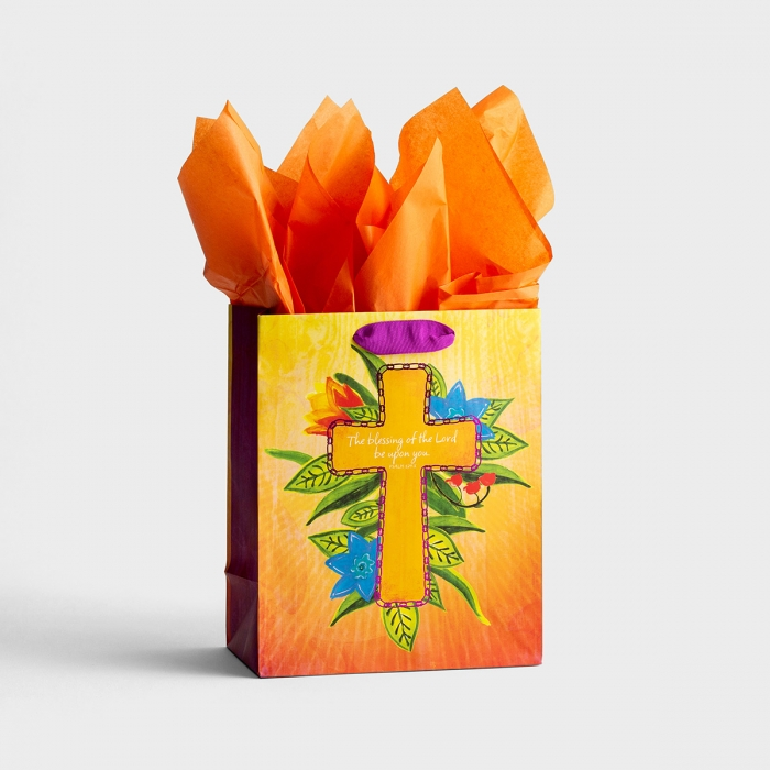 The Blessings of the Lord - Medium Gift Bag with Tissue
