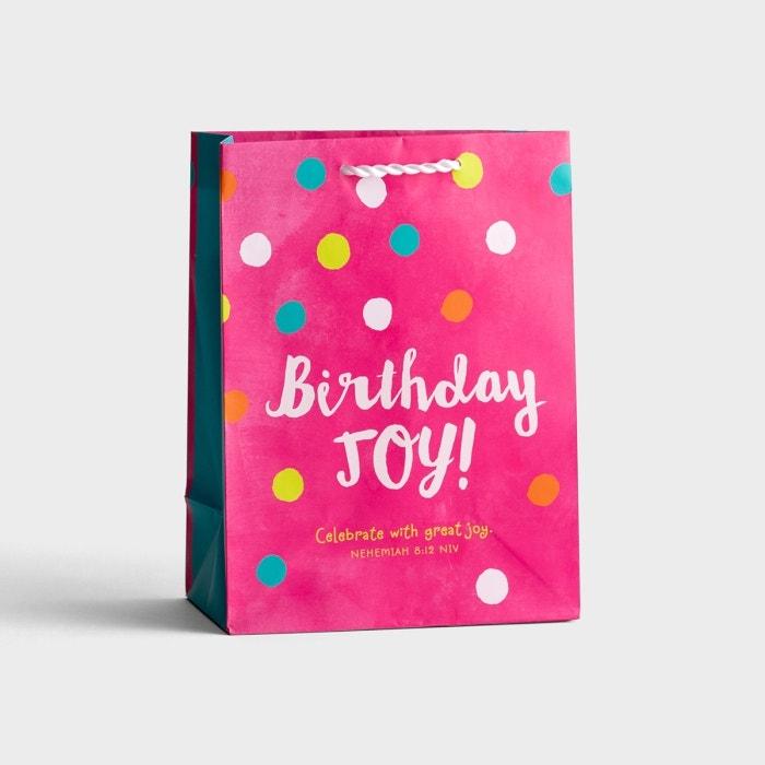 Birthday Joy - Medium Gift Bag
