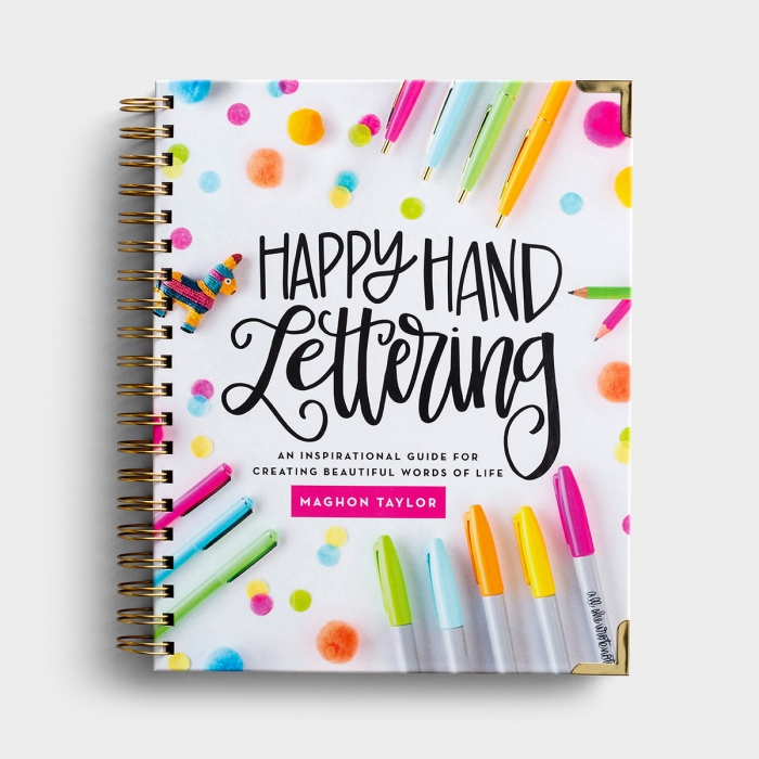 Maghon Taylor - Happy Hand Lettering - Creative How-To Guide