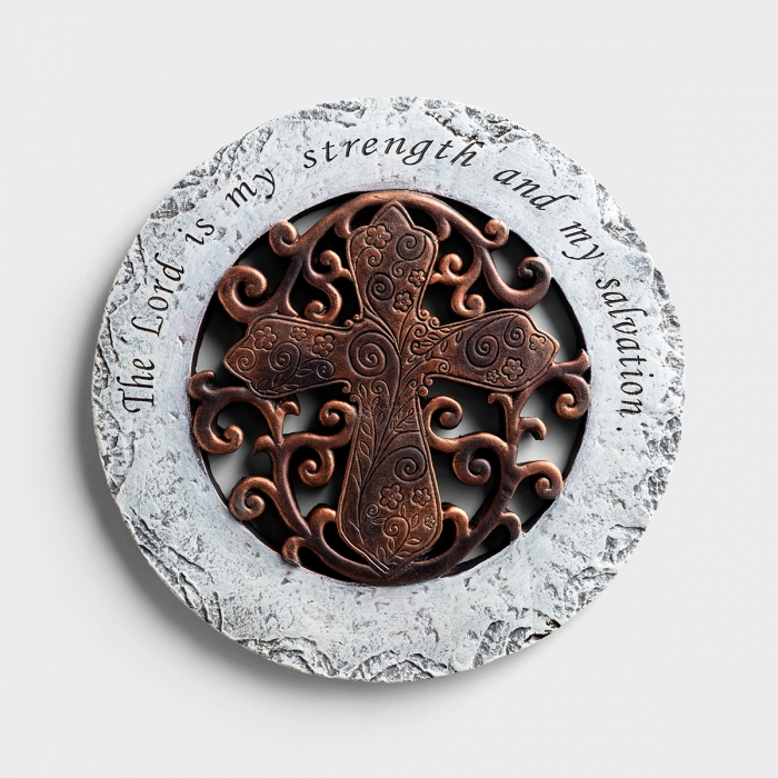 The Lord Is My Strength - Garden Stone