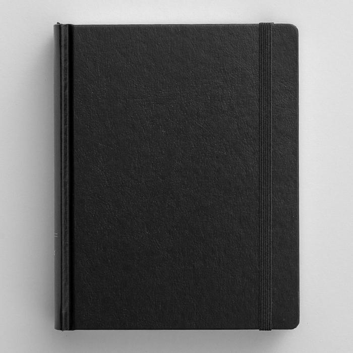 NIV Journal the Word Bible, Large Print - Black