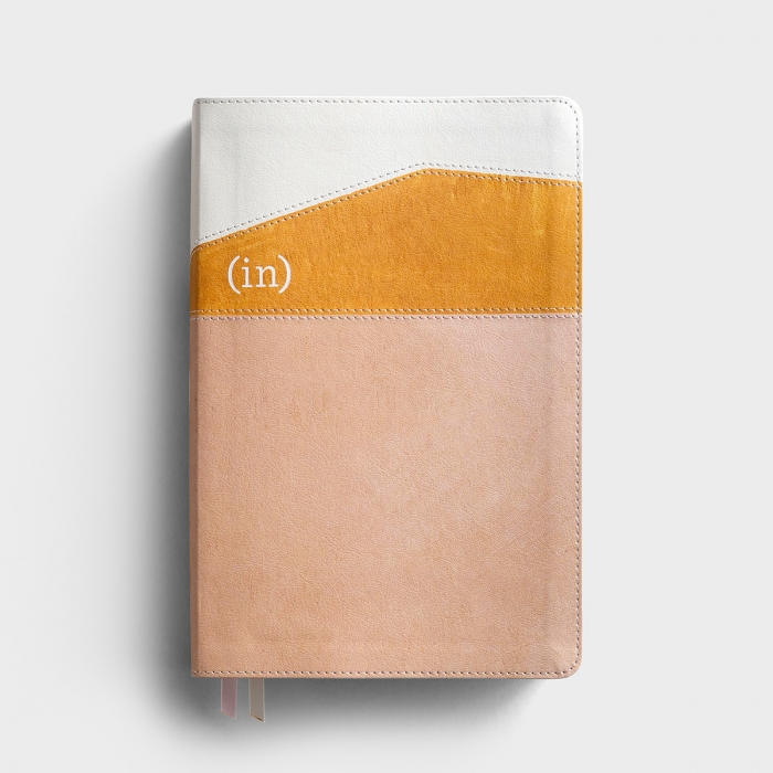 CSB (in)courage Devotional Bible - Desert/Mustard/Alabaster LeatherTouch®