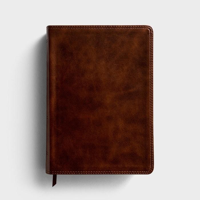 ESV Giant Print Bible - TruTone, Deep Brown