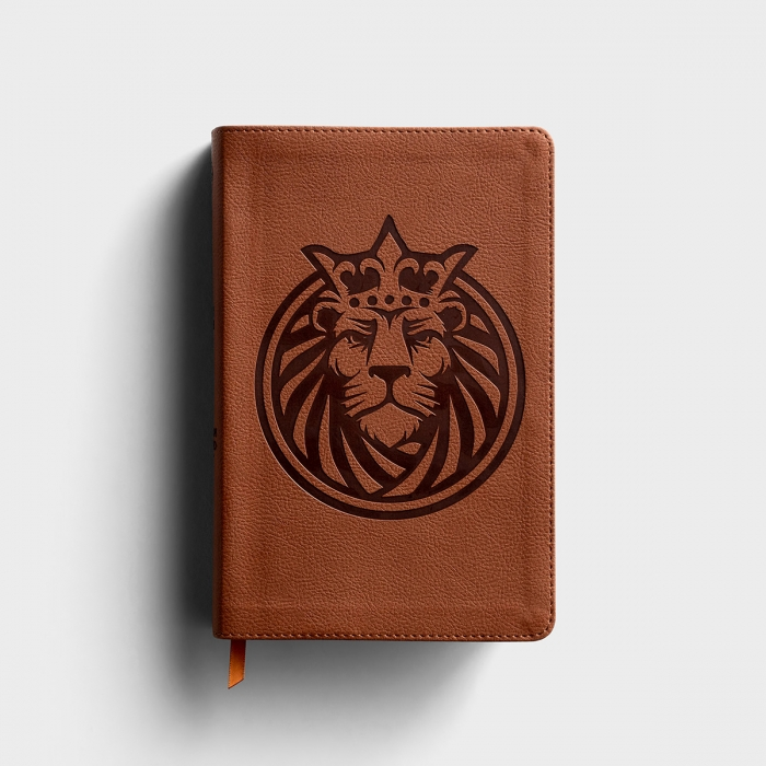 CSB Kids Bible - Lion LeatherTouch
