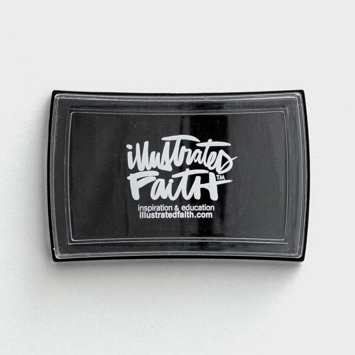 Illustrated Faith - Black Eyed Pea Ink Pad