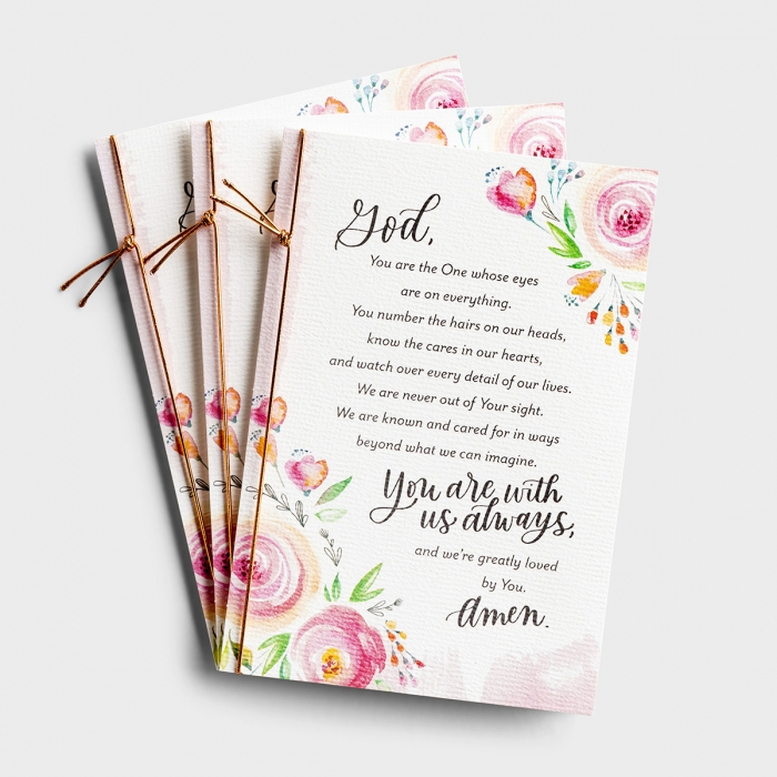 Holley Gerth - With Us Always - 3 Premium Cards