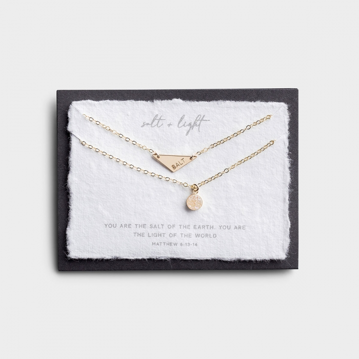 Salt & Light - Gold Layered Necklace Set