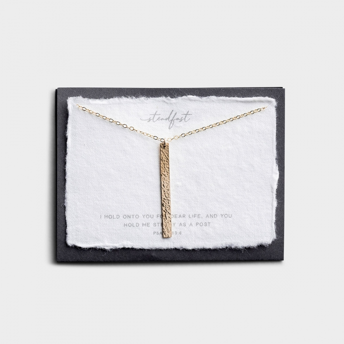 Steadfast - Gold Pendant Necklace