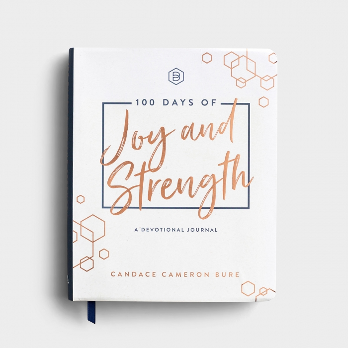 Candace Cameron Bure - 100 Days of Joy and Strength -  A Devotional Journal