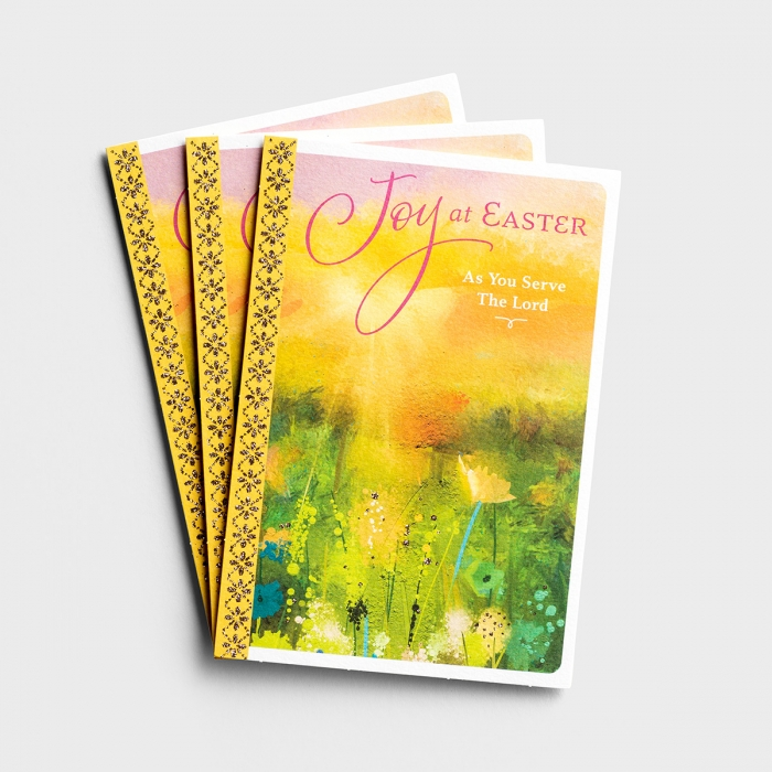 Easter - As You Serve The Lord - 3 Cards