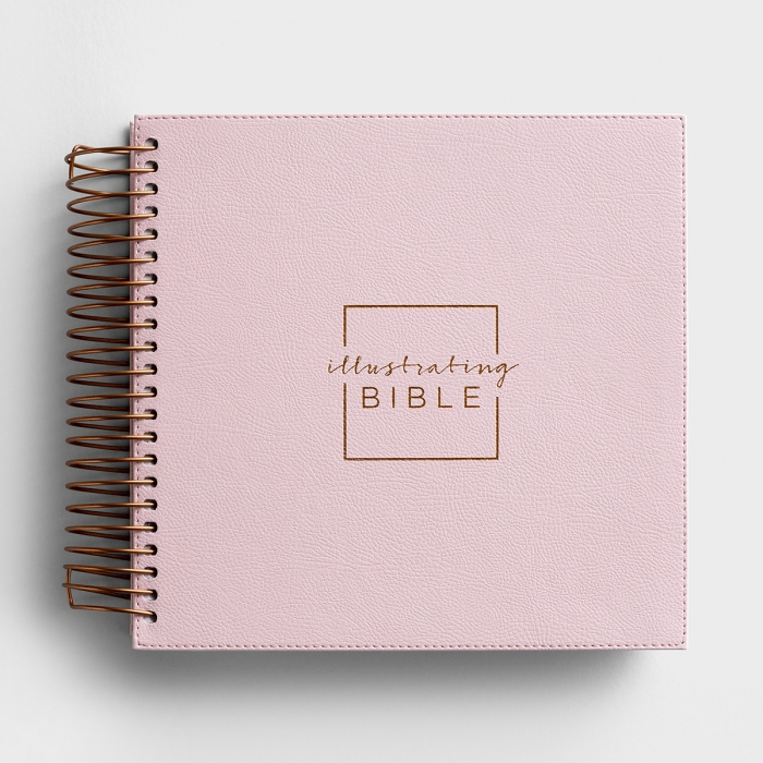 Illustrating Bible - NIV - Pink