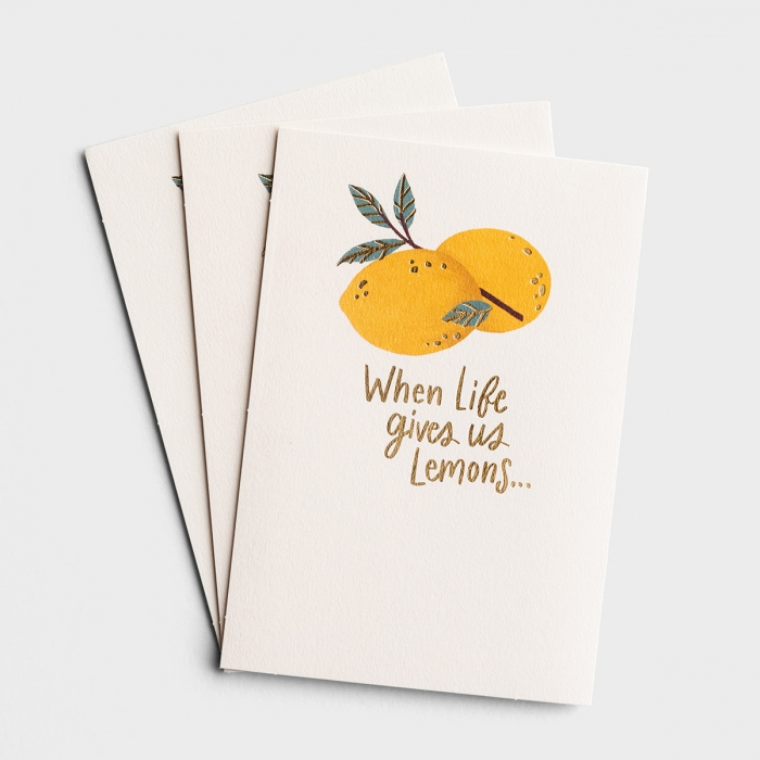 The Struggle Bus - Everyday Empathy - When Life Gives Us Lemons - 3 Premium Cards