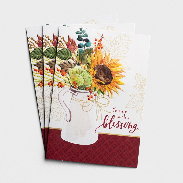 Ministry Appreciation - You Are Such A Blessing - 3 Cards