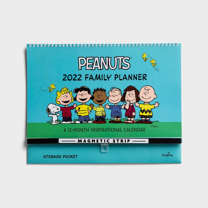 Peanuts® - 2022 Family Planner Wall Calendar with Magnetic Strip