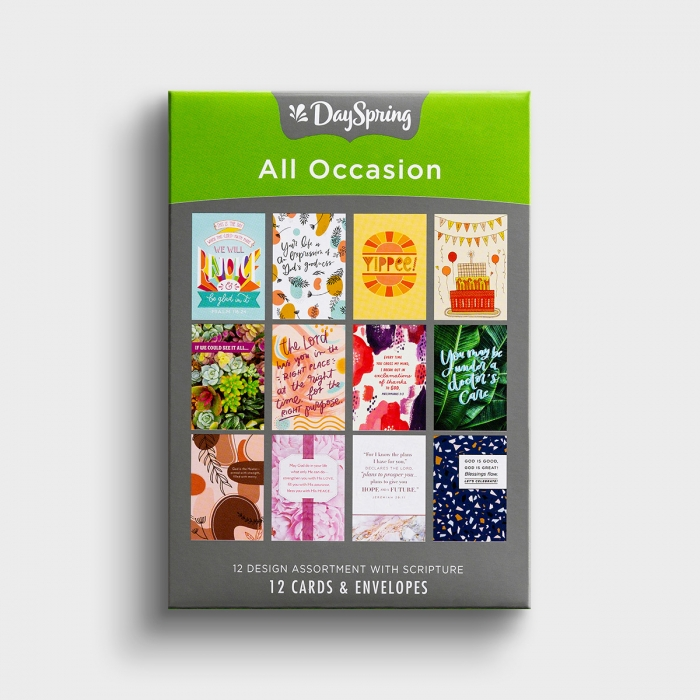 All Occasion - Assorted Scripture - 12 Boxed Cards