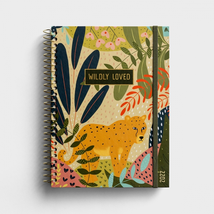 Wildly Loved - 2022 Weekly Monthly Planner