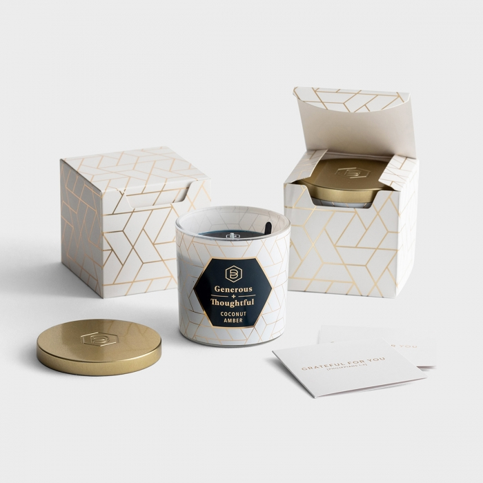 Candace Cameron Bure - Generous + Thoughtful - Set of 2 Candles with Gift Boxes