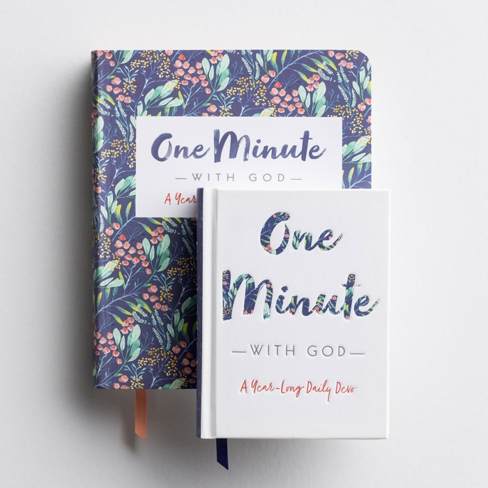 One Minute with God - Devotional Journal & Devo Gift Book Set