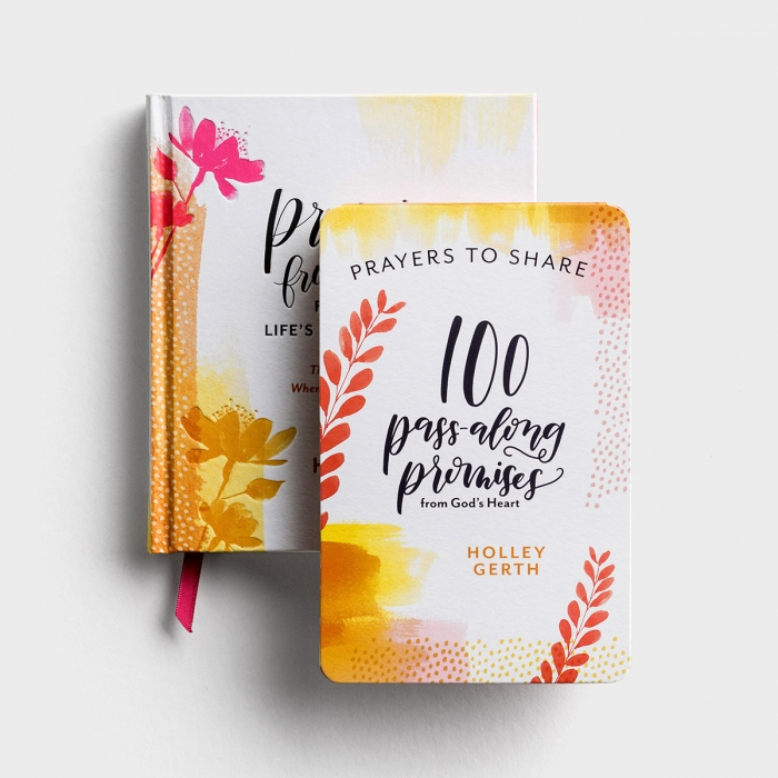 Holley Gerth - Promises from God's Heart - Gift Book and Prayers to Share Gift Set