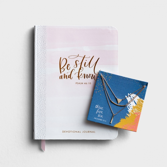 Be Still and Trust in Him - Gift Set