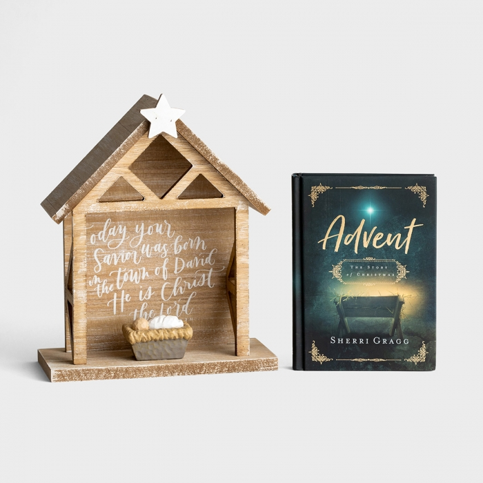 The Story of Christmas - Advent Book and Nativity Gift Set
