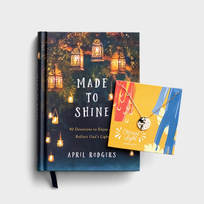 Made to Shine - Book and Necklace Gift Set