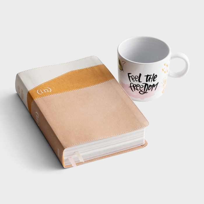 (in)courage Devotional Bible & Today Has New Grace Mug - Gift Set