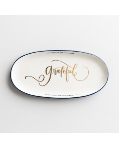 Grateful Ceramic Platter