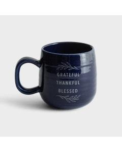 Grateful Thankful Blessed - Ceramic Mug