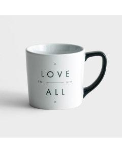 Candace Cameron Bure - Love Over All - Ceramic Mug
