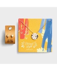 Eternal Light - Necklace & Earrings - Gift Set