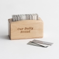 Our Daily Bread - Wood Promise Box