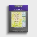 Sympathy - Thoughts & Prayers - 12 Boxed Cards, KJV
