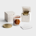 Candace Cameron Bure - Hope + Gratitude - Set of 2 Candles with Gift Boxes