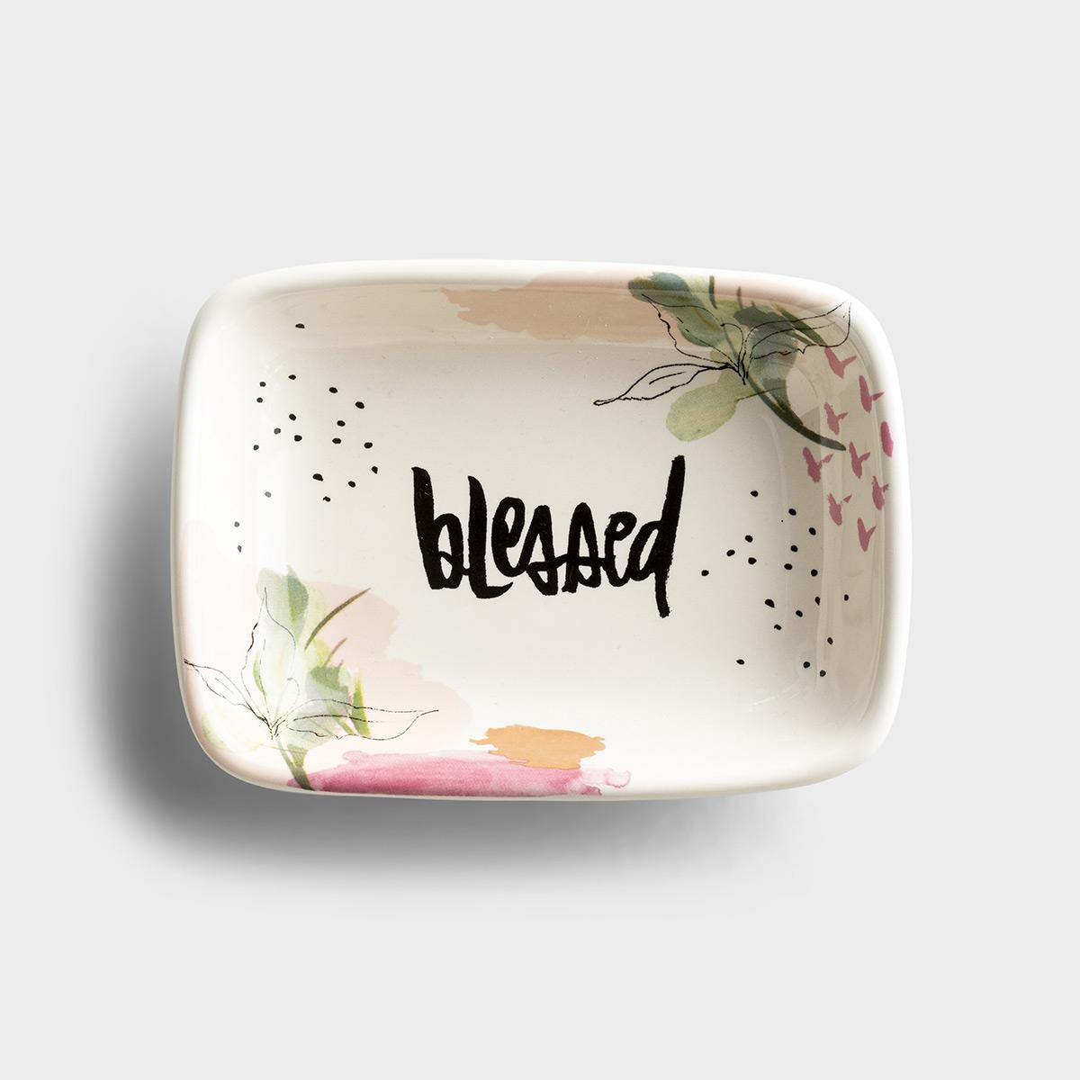 Katygirl - Blessed - Trinket Dish
