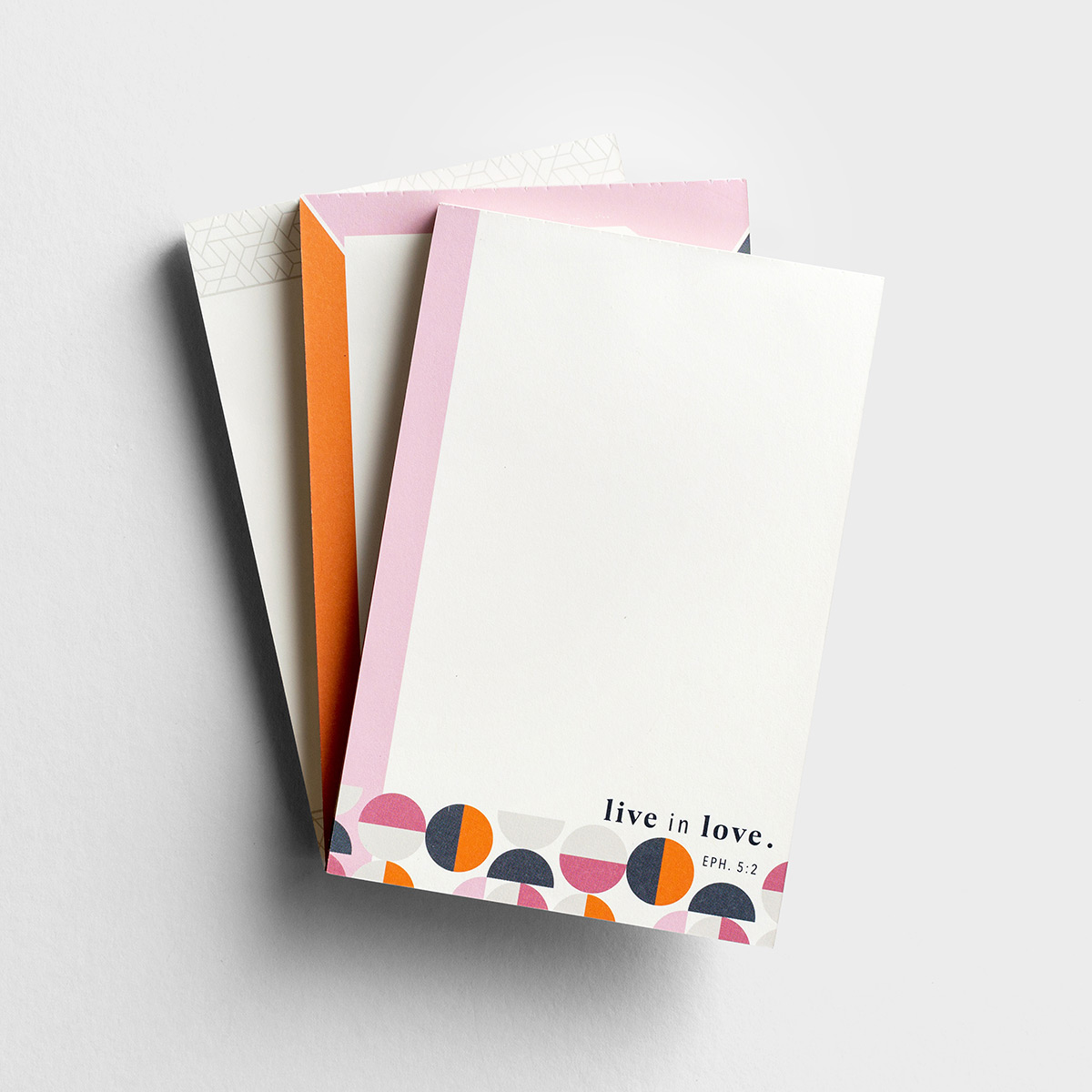 Candace Cameron Bure - Live in Love - Note Pads, Set of 3