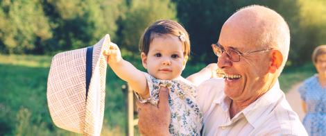 A Prayer of Blessing for Grandparents
