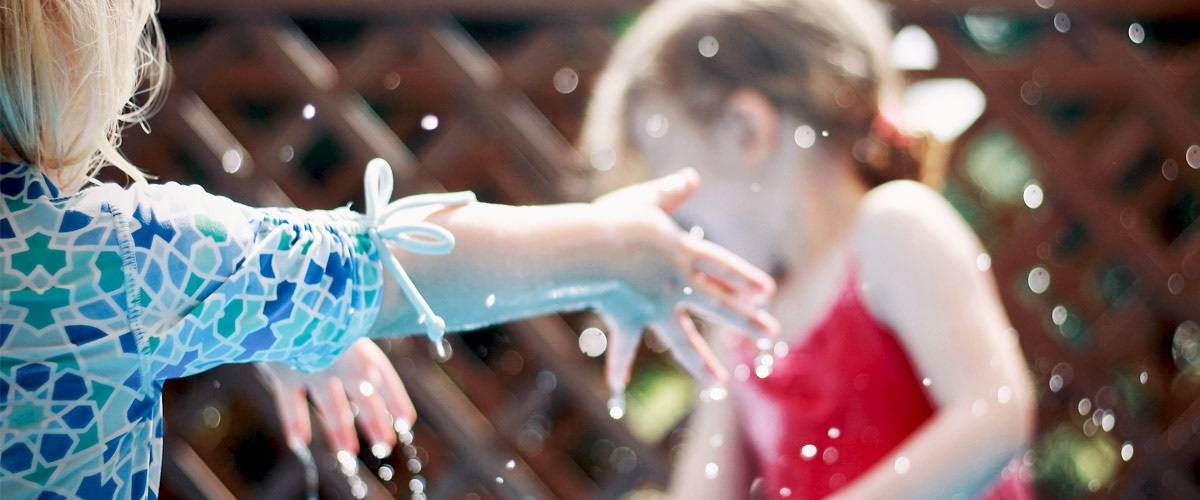 Giving Thanks for Snowcones & Sprinklers